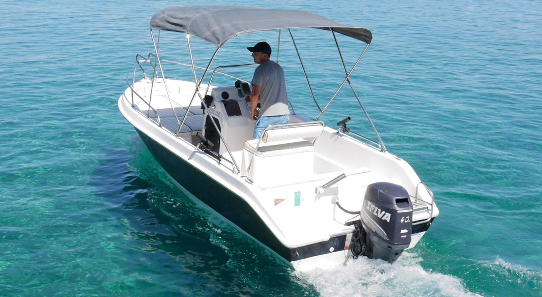 barca con skipper
