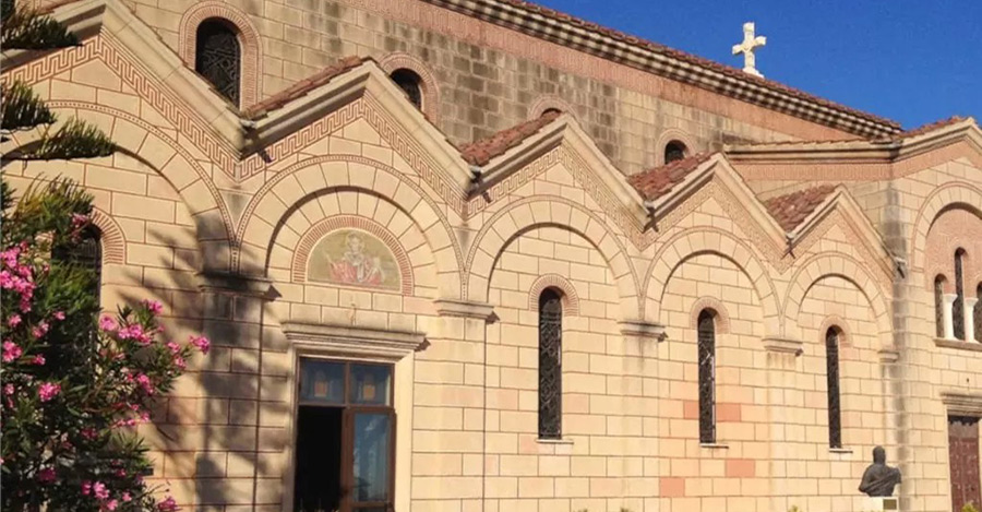 sandionysios chiesa a Zante