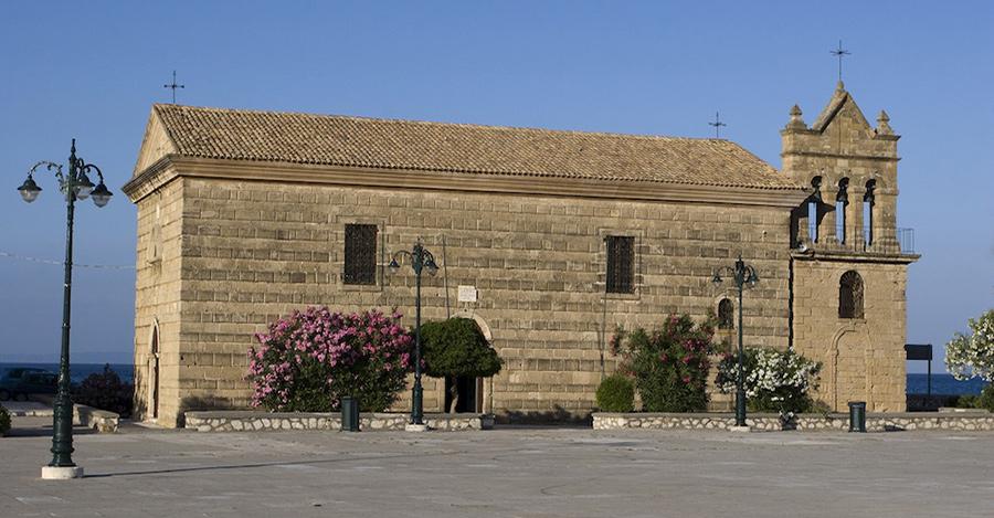 sannichoals chiesa a Zante