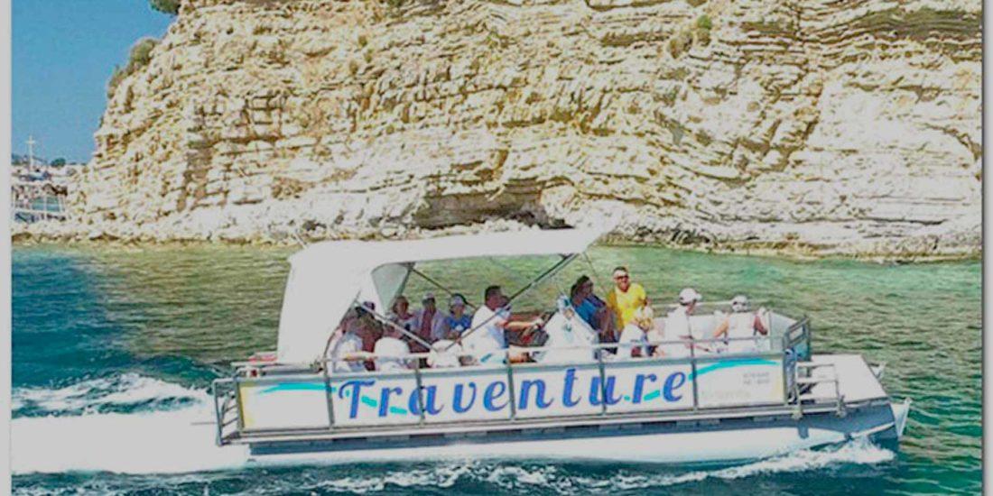 escursione catamarano zante