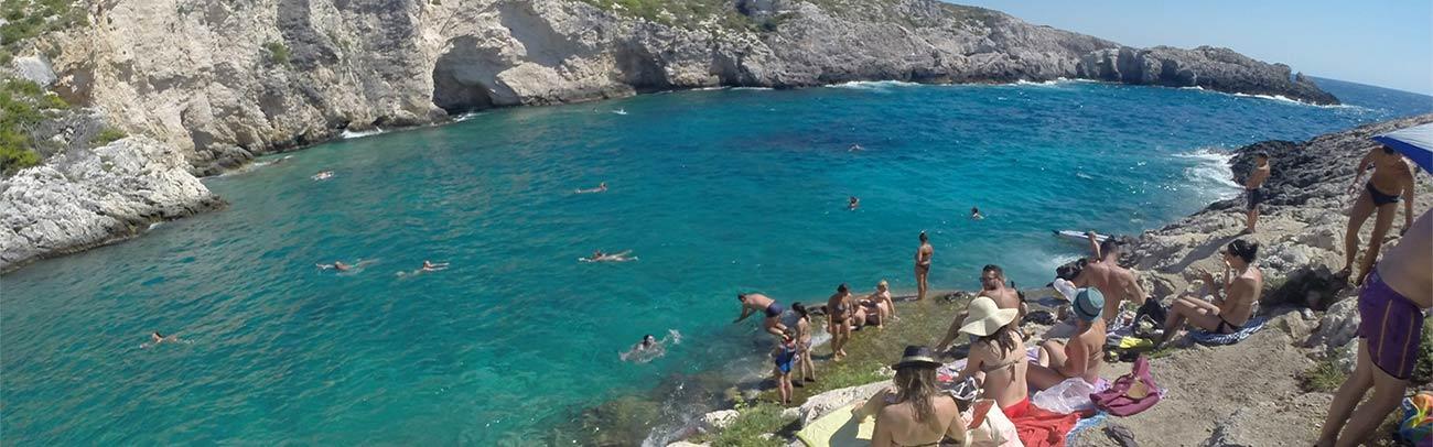 Plaża porto limnionas
