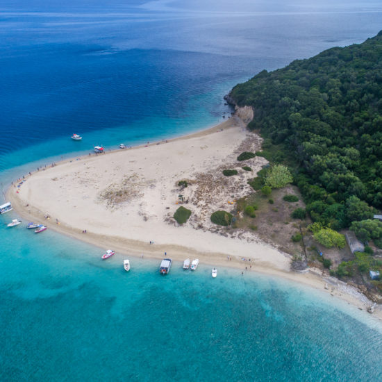 isola di Marathonisi Island