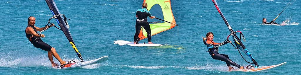 Windsurf a zante