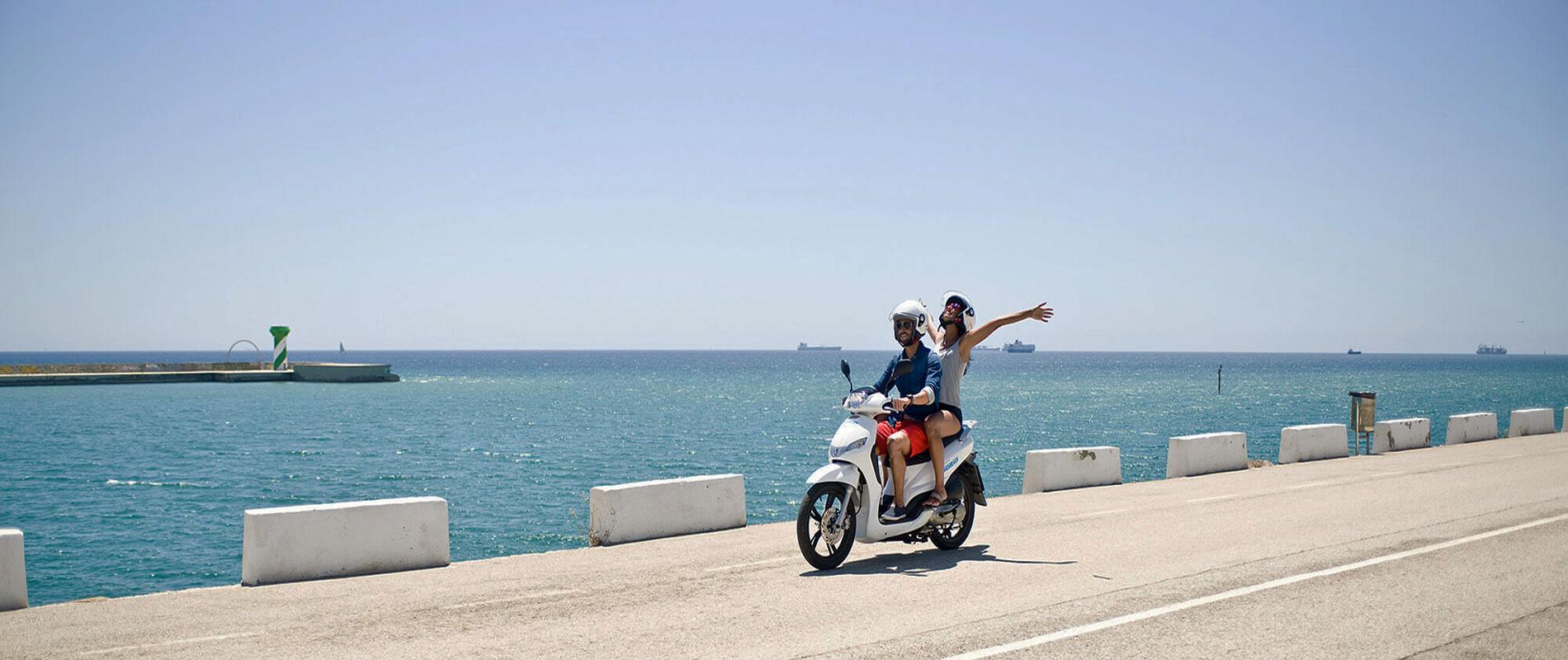 noleggio scooter zante