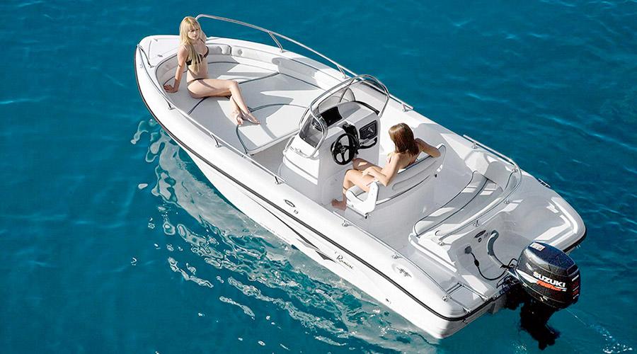 barca senza patente zante rent Boat Shipwreck