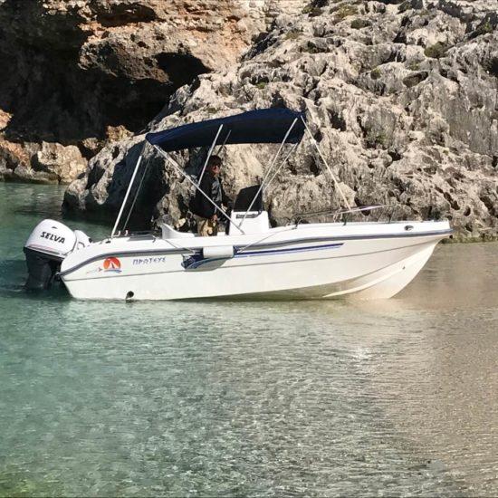 noleggio barca Zante rent boat