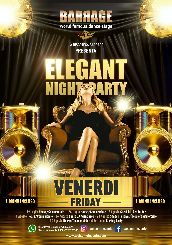 events party Zante