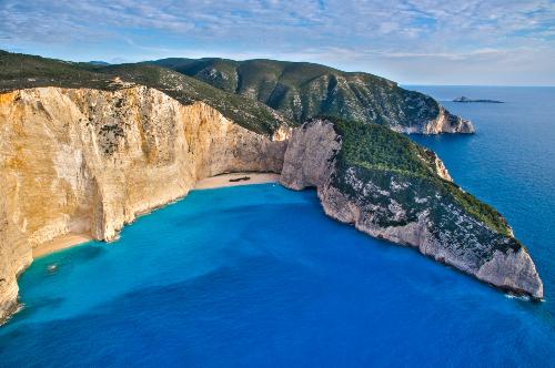 The Shipwreck Beach Zakynthos Island