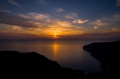Sunset Zakynthos island
