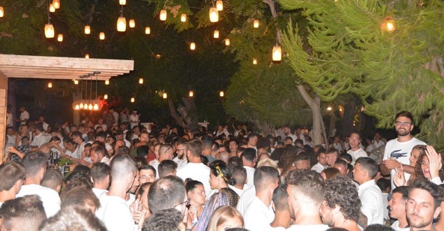 Discoteca Barrage Martedì Bianco