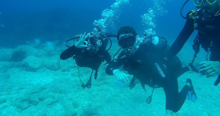 Immersioni subacquee grecia zante open water diver