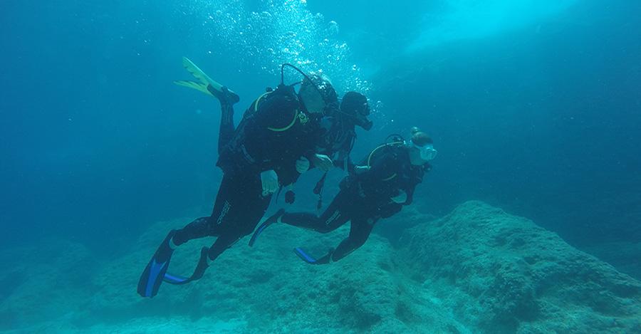 diving in zakynthos master scuba diver