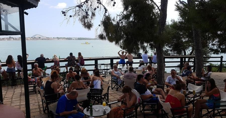 isola di cameo island zante aperitivo