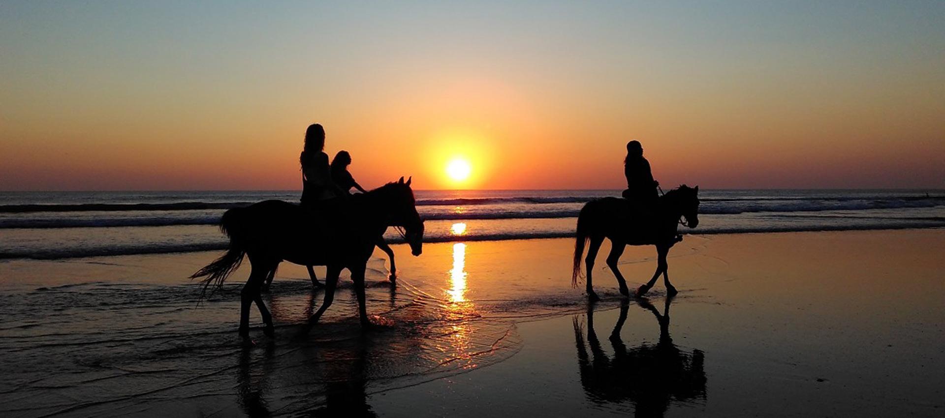 on horseback in zante mountains