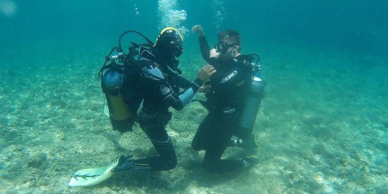 scuba diving zante