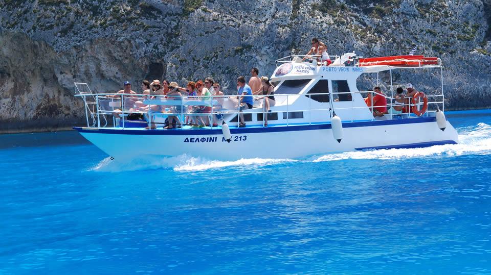 tour spiaggia relitto zante - excursion to shipwreck beach
