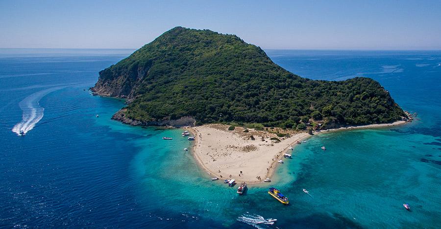 marine park island of marathonisi