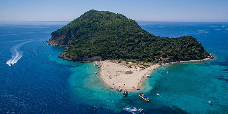 parco marino isola marathonisi Zante