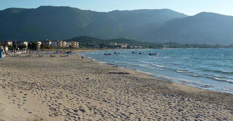 spiaggia alykanas