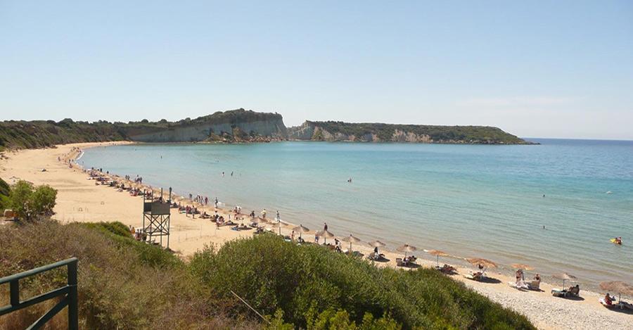 zante spiaggia gerakas