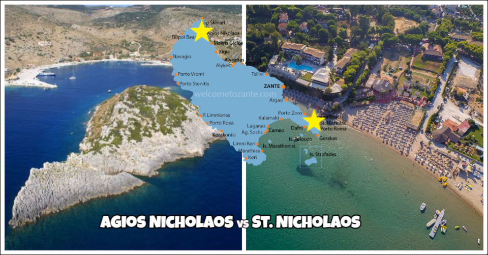 Agios Nicholaos e St. Nicholaos Zante