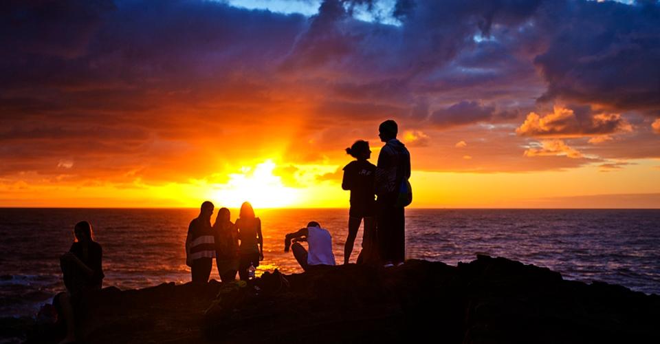 tramonto a Zante