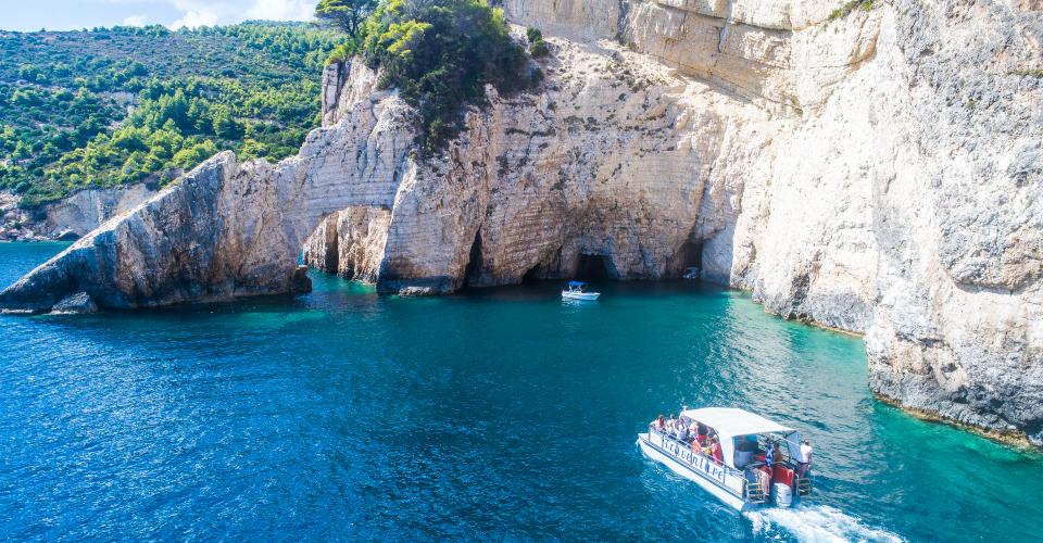 grotte di keri caves Zante