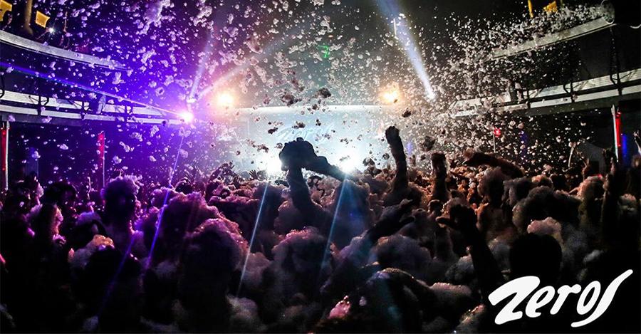discoteca zero schiuma party a zante