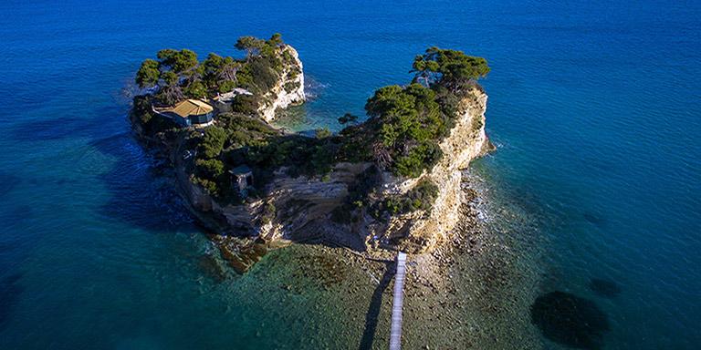 Południowe wybrzeże Zakynthos