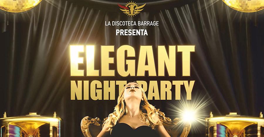 venedì elegant night party discoteca barrage zante