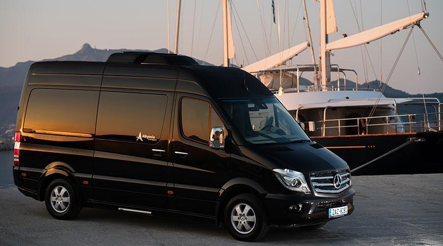 wynajem autokarów na zakynthos Mercedes Sprinter 316 Luxury