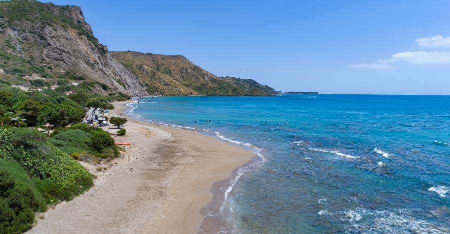 Dafni Beach Zante Spiaggia Parco Marino 900x469