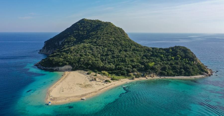 isola di Marathonisi una delle attrazioni da vedere a Zante