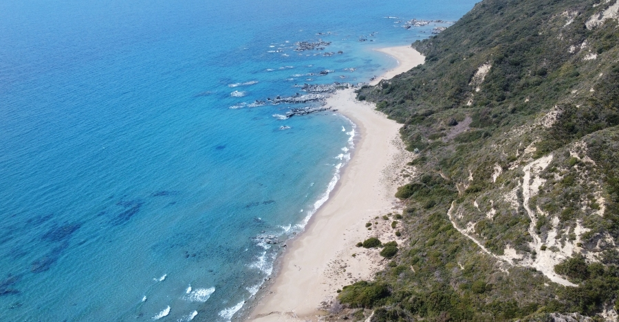 Beach Sekania spiaggia Parco Marino Zante
