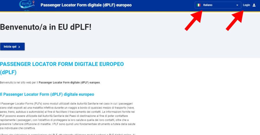 Guida alla compilazione del modulo PLF per rientrare in Italia Grecia Zante